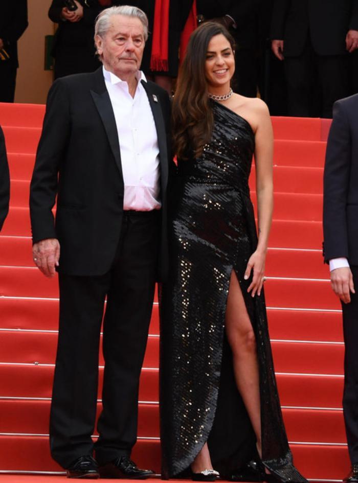 Ален Делон получил прощальную награду на Каннском кинофестивале 2019