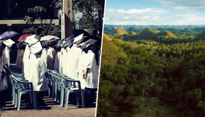 Филиппины обязали выпускников ВУЗов сажать по 10 деревьев на каждого