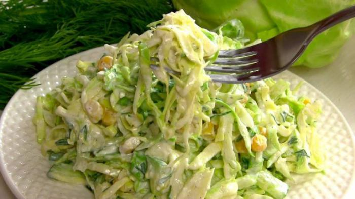3 рецепта вкуснейших салатов из капусты