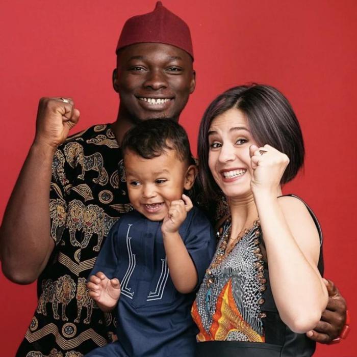 Эта удивительная генетика, или как выглядит ребенок от простой русской девушки и нигерийца «голубых кровей»