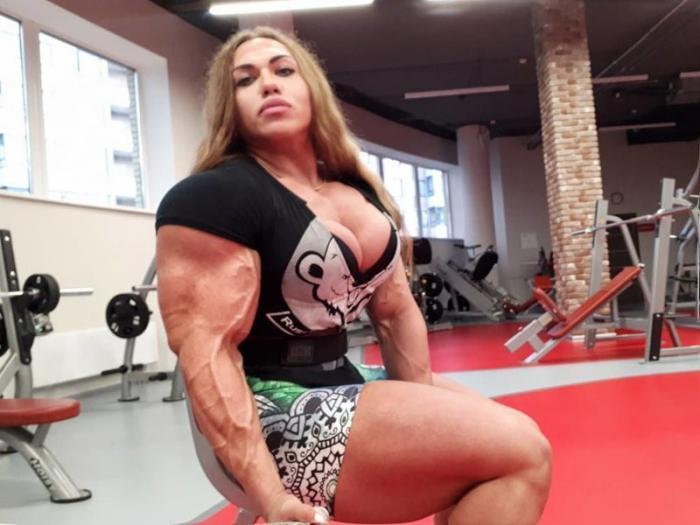 Вот какой была Наталия Кузнецова несколько лет назад, до карьеры бодибилдирши