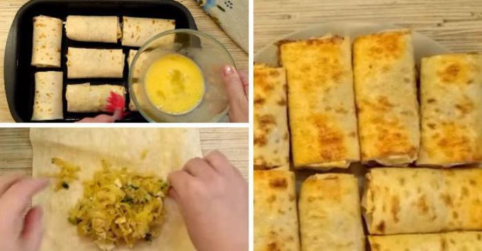 ТОП-10 самых вкусных блюд на основе лаваша. От закусок до десертов!