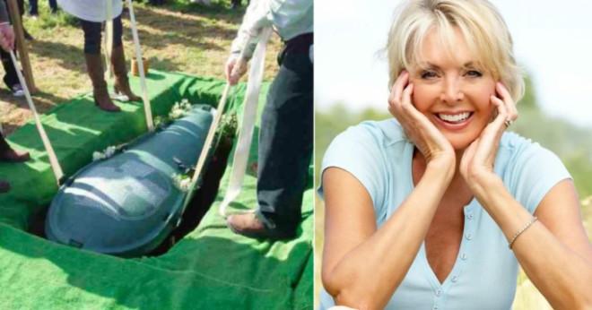 Муж завещал, чтобы жена похоронила его со всеми деньгами. И жена его послушалась