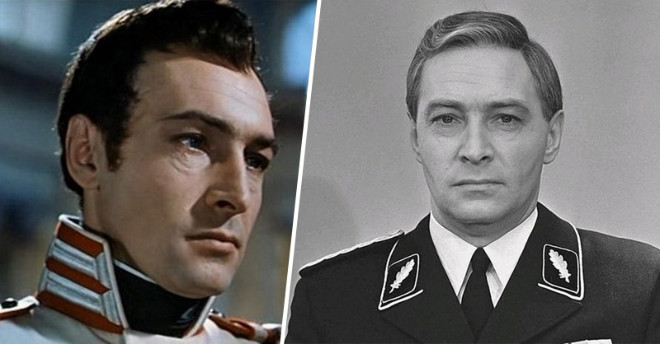 Любимый миллионами актер Вячеслав Тихонов. От молодогвардейца до полковника Исаева-Штирлица.