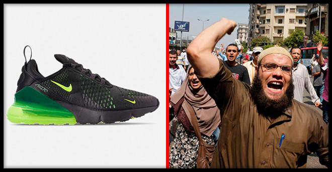 Мусульмане всего мира восстали против Nike из-за надписи на ее кроссовках