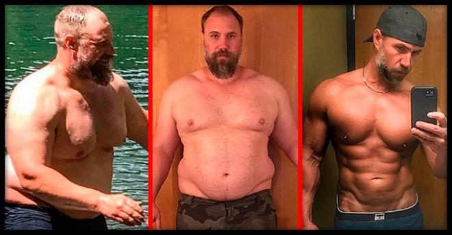 Отец семейства сбросил 40 кг за 5 месяцев, чтобы детям не было за него стыдно