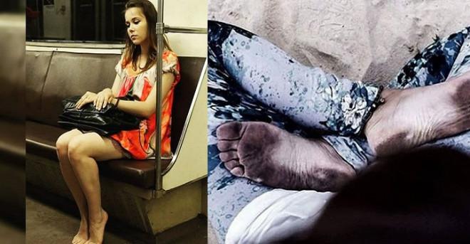 Босиком по мостовой: почему люди массово отказываются от ношения обуви в общественных местах