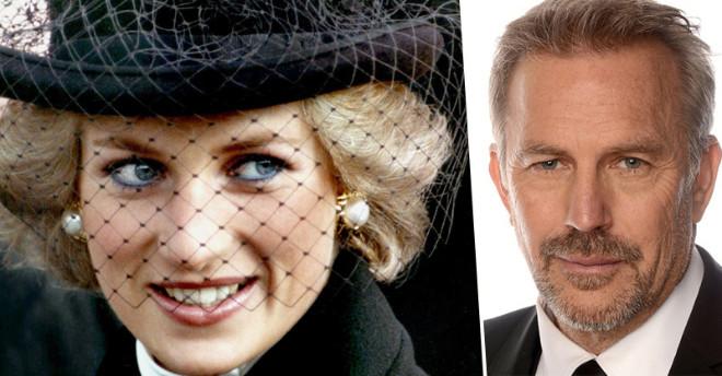 Спустя 22 года актер Кевин Костнер раскрыл тайну покойной принцессы Дианы