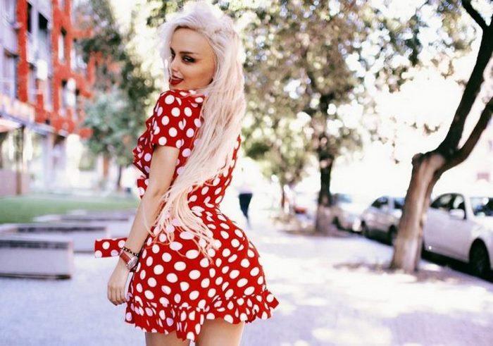 Лили Морто — живая кукла Барби из Армении