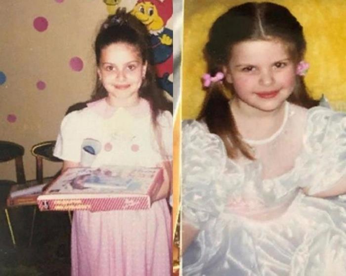 Девушка из Костромы, которая прославилась своей красотой, в детстве была обычным ребенком