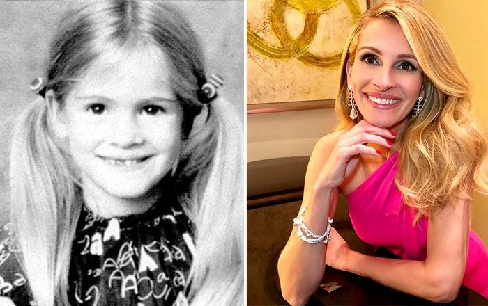 Вот так изменились наши кумиры: снимки знаменитостей в детстве