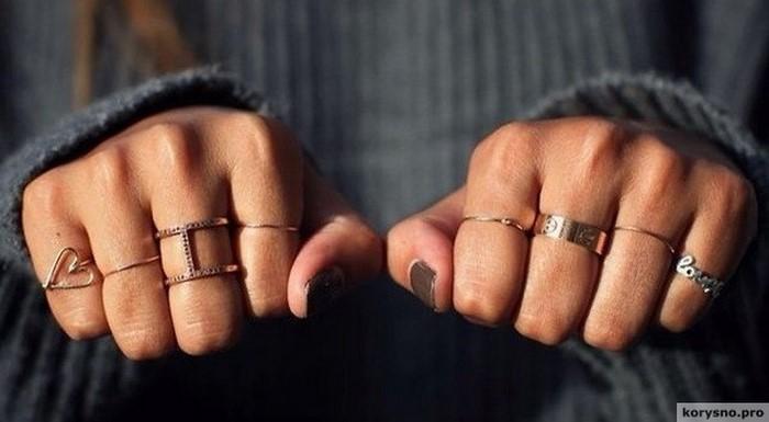 Что символизируют кольца на разных пальцах! Будьте внимательны!