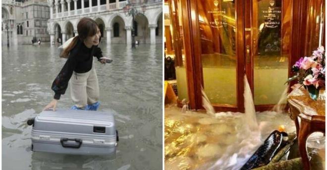 Венеция поплыла: рекордный потоп продолжается