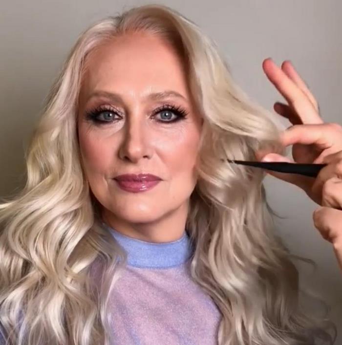 Пенсионерка за час превратилась в 30-летнюю красавицу
