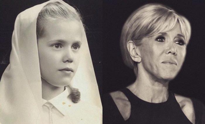 «Красотка с детских лет»: как выглядела Брижит Макрон в свои юные годы