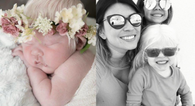 У мексиканки родилась белокурая дочь. Сегодня она уже подросла и стала красоткой