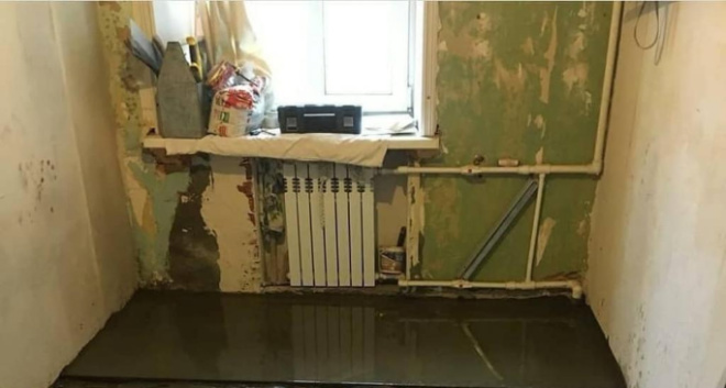 Соседи преобразили кухню, никогда не видевшую ремонта
