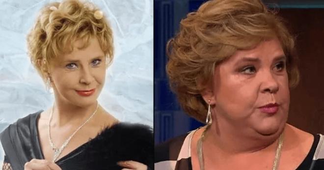 Как некрасиво стареют в прошлом красивые актрисы