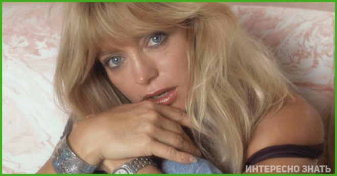 Актриса 90-х Голди Хоун удивила молодежным образом и не молодежным лицом