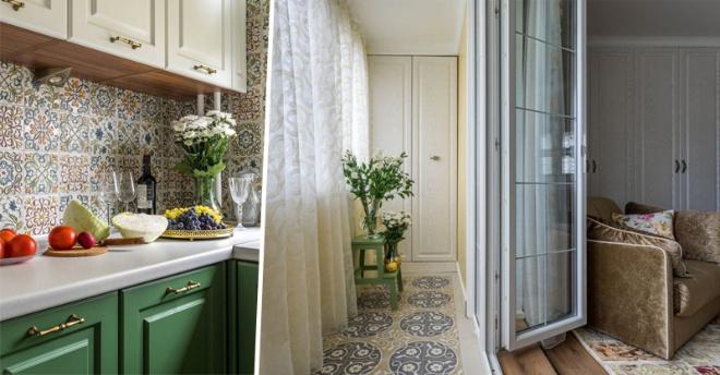 Как превратить обычную однокомнатную квартиру в роскошное жилье, имея вкус и смекалку
