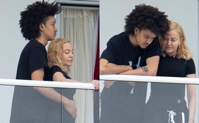 61-летнюю Мадонну «застукали» в объятиях ее 26-летнего танцора