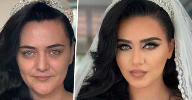 Невероятная сила макияжа, после которого даже женихи не смогли узнать своих невест