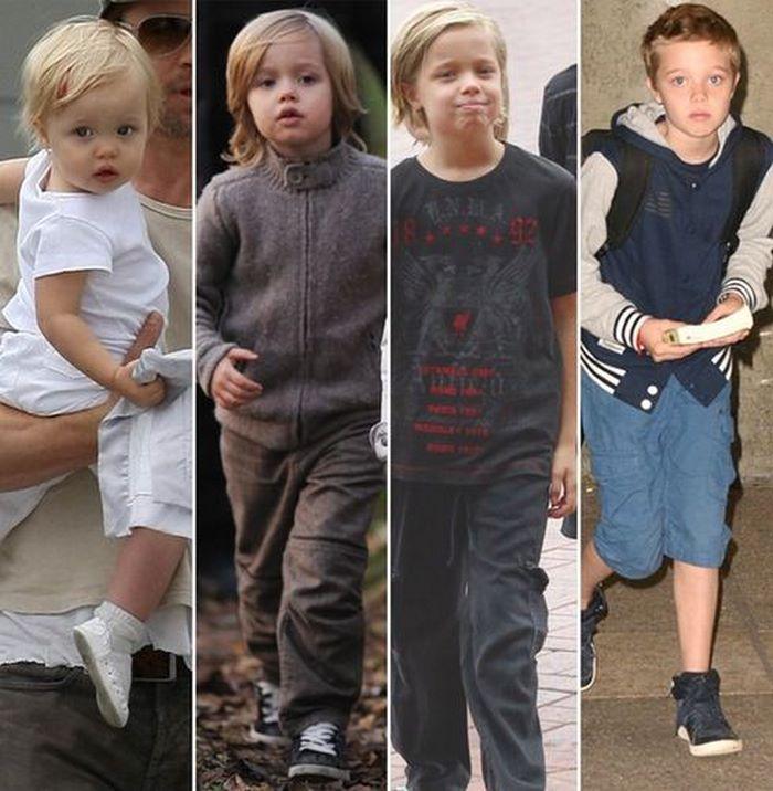 СМИ: дочь Джоли и Питта официально стала Джоном