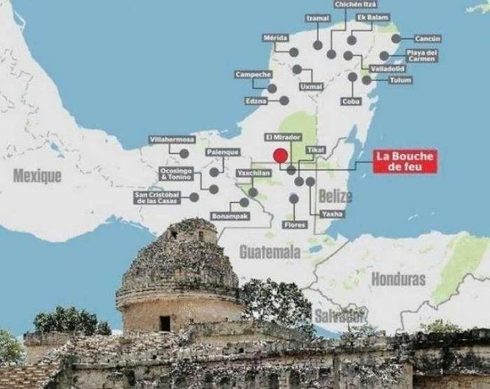 Канадский школьник нашел затерянный город майя по звездным картам