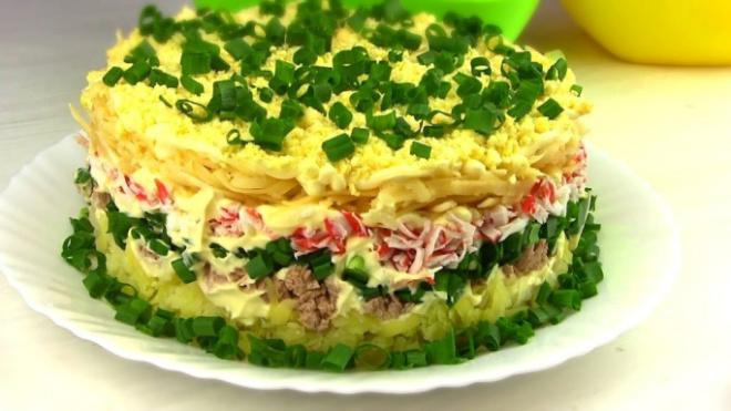Салат «Аристократ». Великолепное праздничное блюдо из простых продуктов