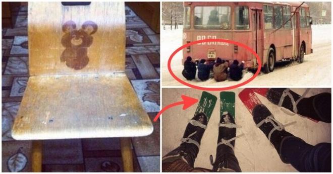 Незабываемые атрибуты прямиком из советского детства