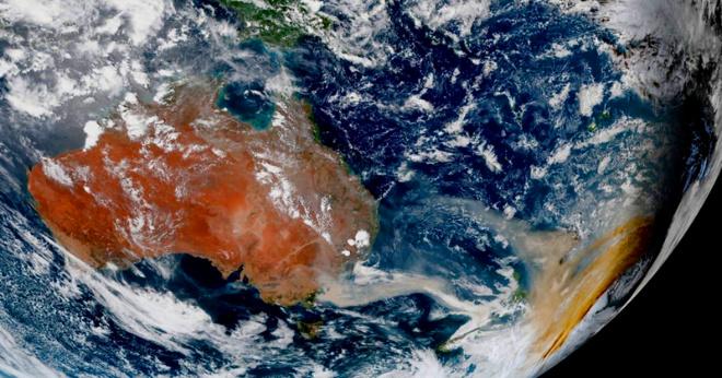 Пожары в Австралии: шокирующие снимки со спутника