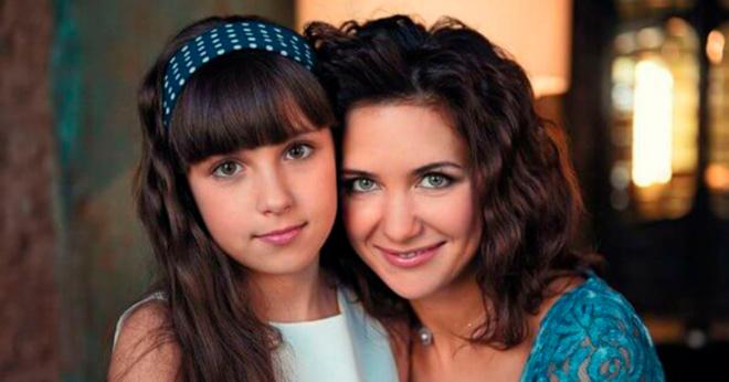 Дочь Екатерины Климовой выросла и стала копией красавицы-мамы