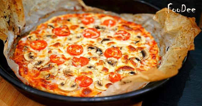 Пицца без теста за 5 минут! Быстрый, простой и вкусный ужин