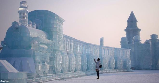 Захватывающие фото крупнейшего в мире фестиваля снега и льда в Китае